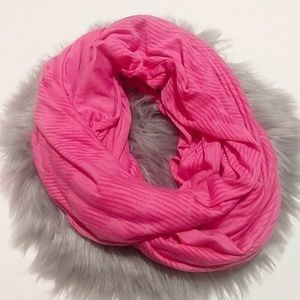 Nike   Bright Pink Dri-Fit Infinity Workout Scarf